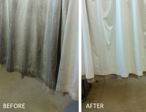 Curtain Dirt Cleanings